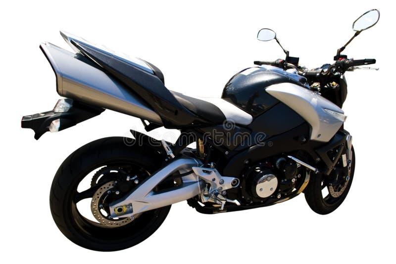 Motorrad getrennt stockbilder
