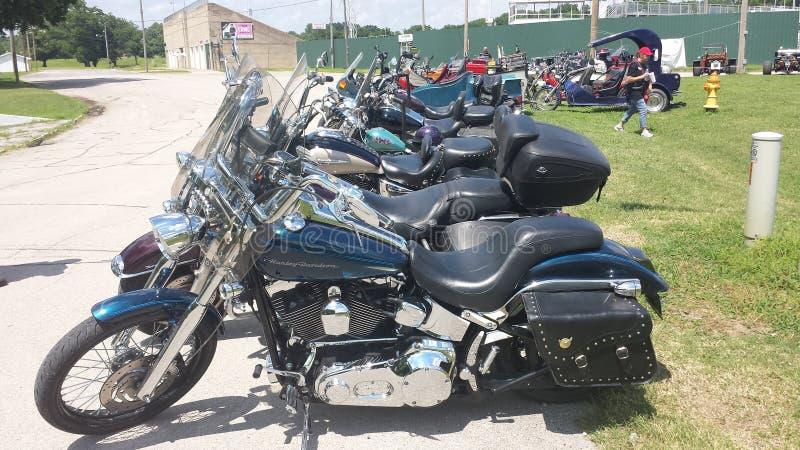 Motorrad Harley Davidson stockfotos