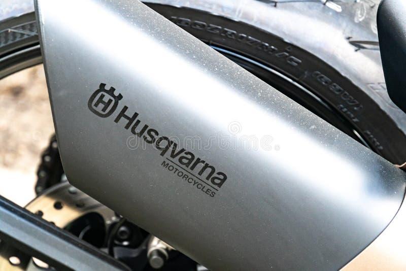 Motorrad Husqvarna Vitpilen 701 stockfoto