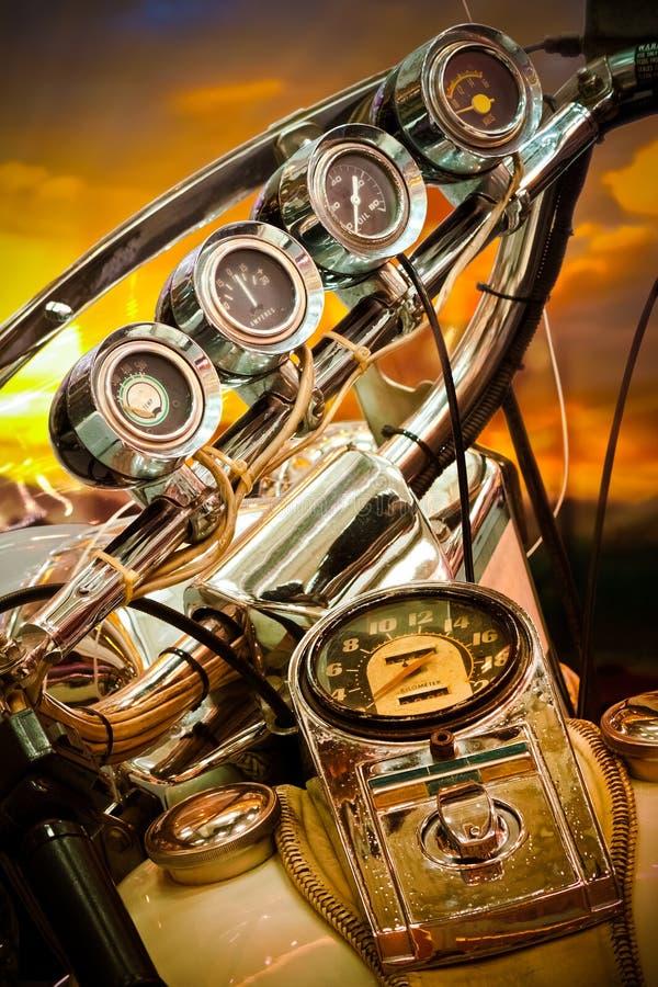 Motorrad-Lehre lizenzfreie stockbilder