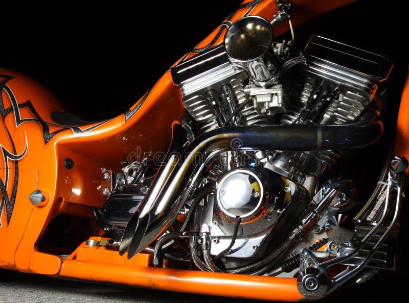 Motorrad-Motor stockbilder