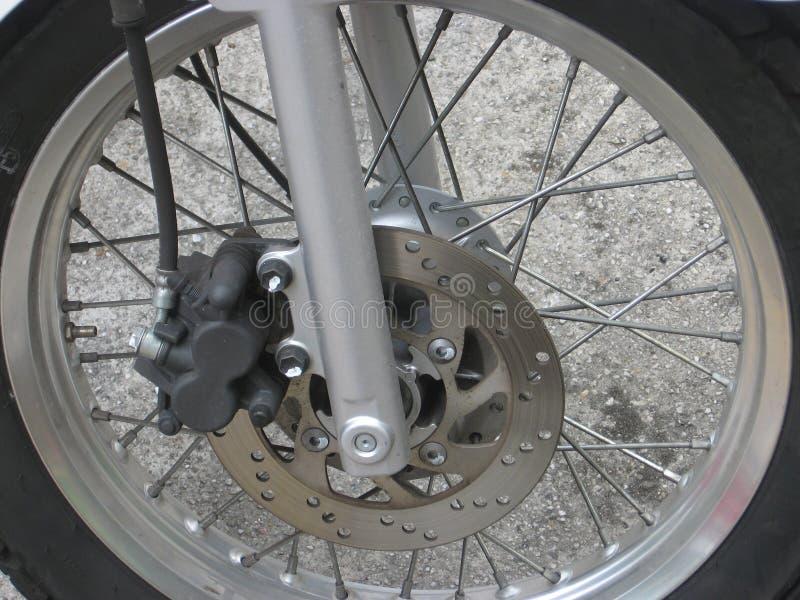 Motorrad Whee stockbild