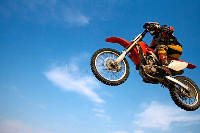 Motorradfahrer lizenzfreies stockbild