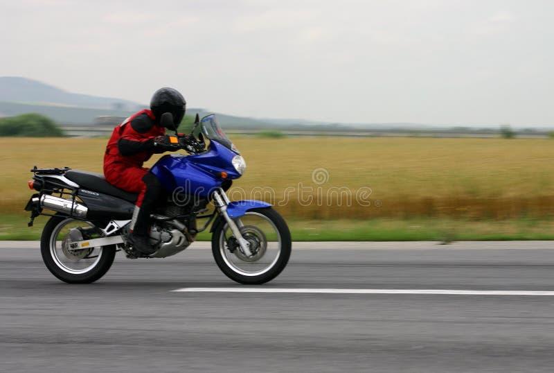 Download Motorradluftwiderstand stockbild. Bild von schnell, transport - 27719