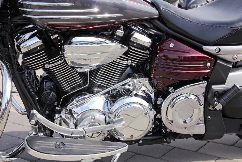 Motorradnahaufnahme lizenzfreies stockfoto