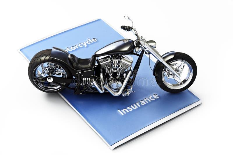 Motorradversicherungskonzept stockfoto