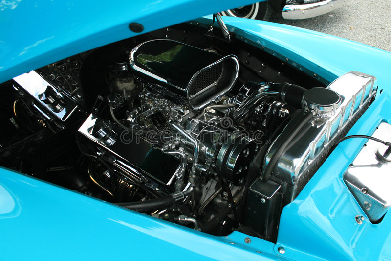 Motors up royalty free stock photo