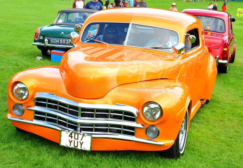 Motorshow stock foto's