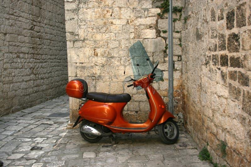motorsparkcykel royaltyfria foton
