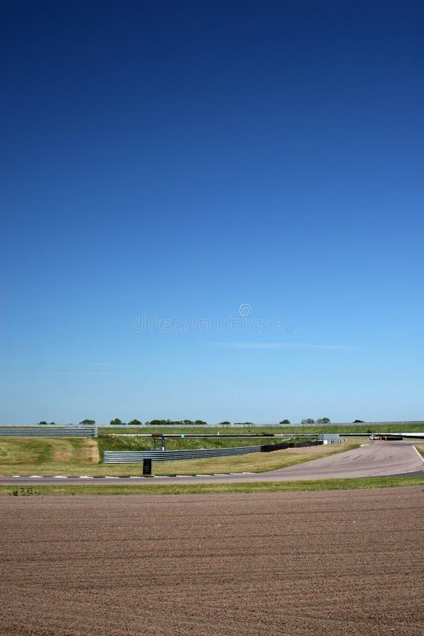 motorsport跟踪 库存照片