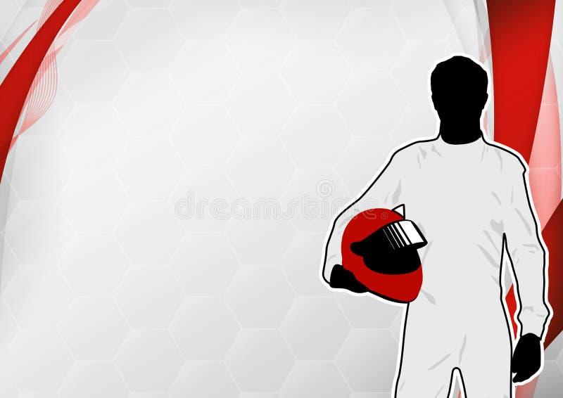 Download Motorsport background stock illustration. Illustration of cart - 27017122