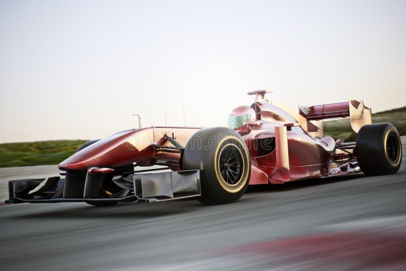 Motorsportlaufen vektor abbildung