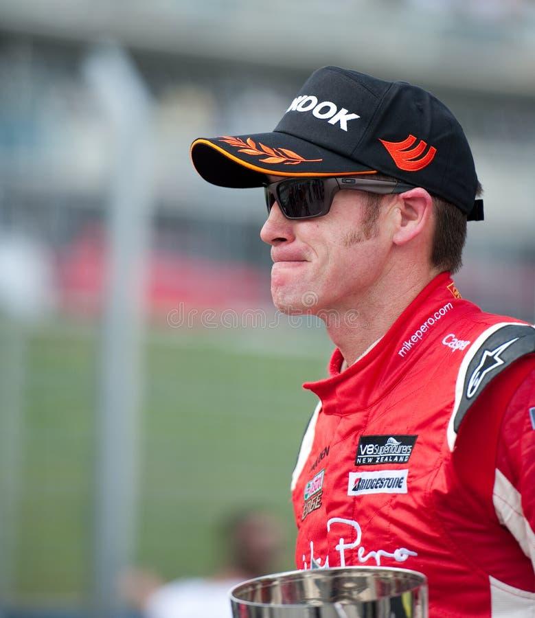 Motorsports - gagnant Greg Murphy de V8 Supertourers photo stock