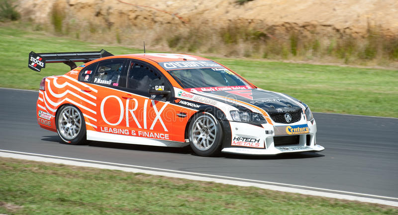 Motorsports - V8 Supertourers photo stock