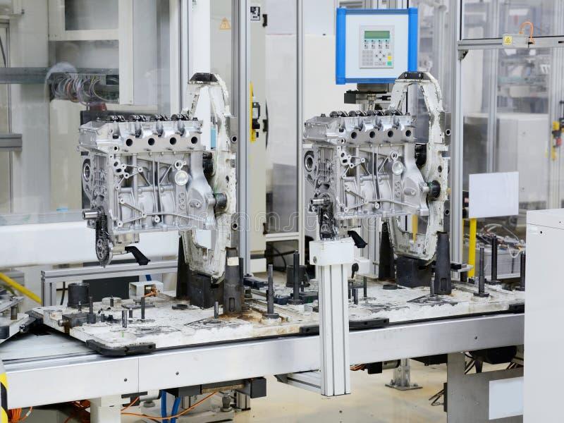 Motortillverkning arkivfoto