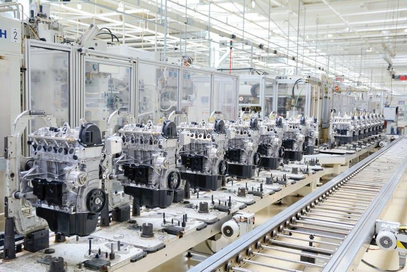 Motortillverkning royaltyfri foto