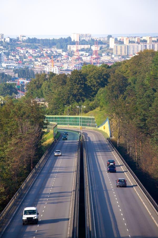 Motorway stock photography