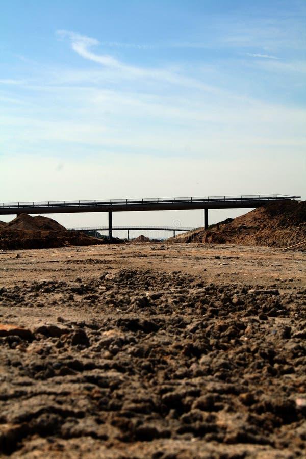 Motorway Construction Stock Photo