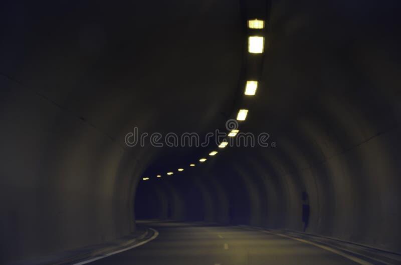 Motorway tunnel royalty free stock image