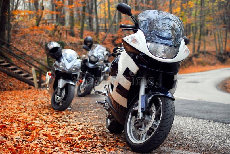 Motos II images libres de droits