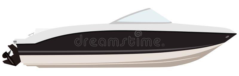 motoscafo royalty illustrazione gratis