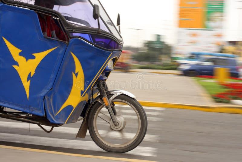 mototaxihastighet royaltyfri bild