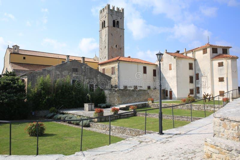 Motovun historique dans Istria, Croatie images stock
