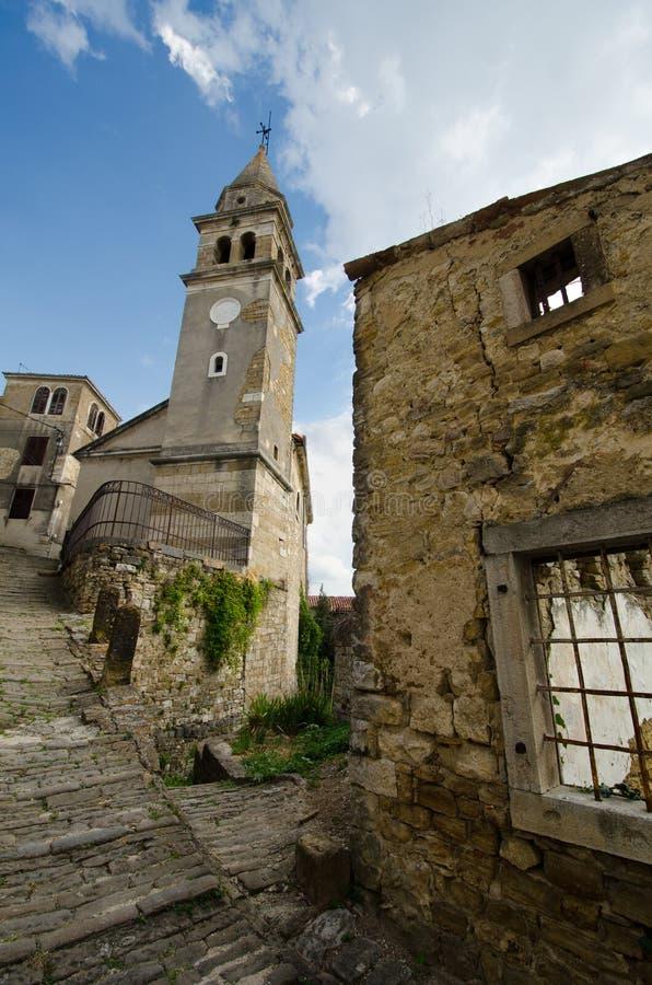 Motovun, Istria, Croatie images stock