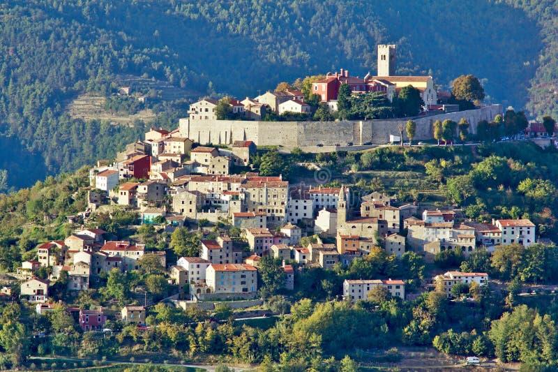 Motovun dans Istria, Croatie photos stock