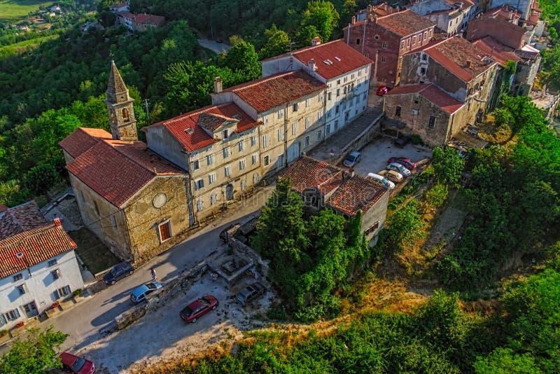 Motovun - la Croazia fotografia stock