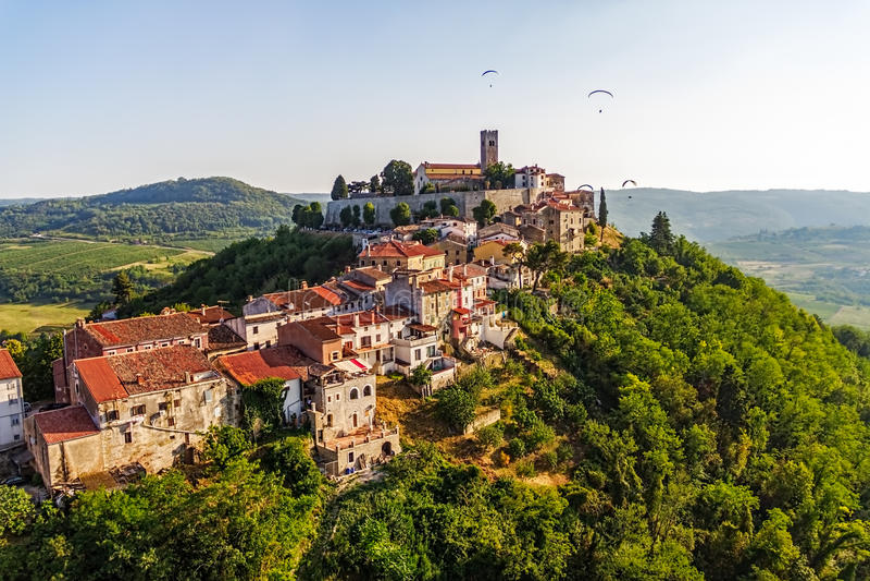 Motovun - Croatia royalty free stock image