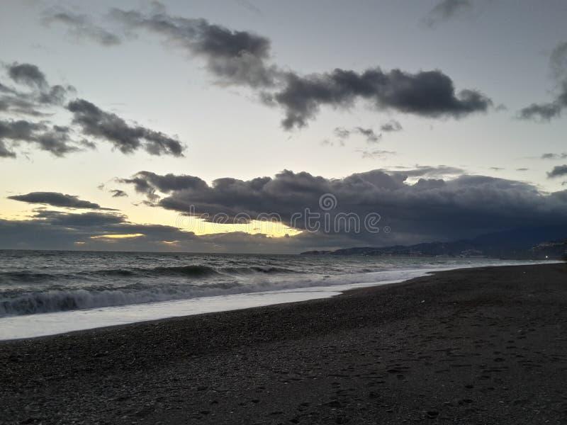 Motril plaża obraz stock
