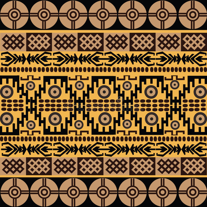 Motriz africanos ilustração royalty free