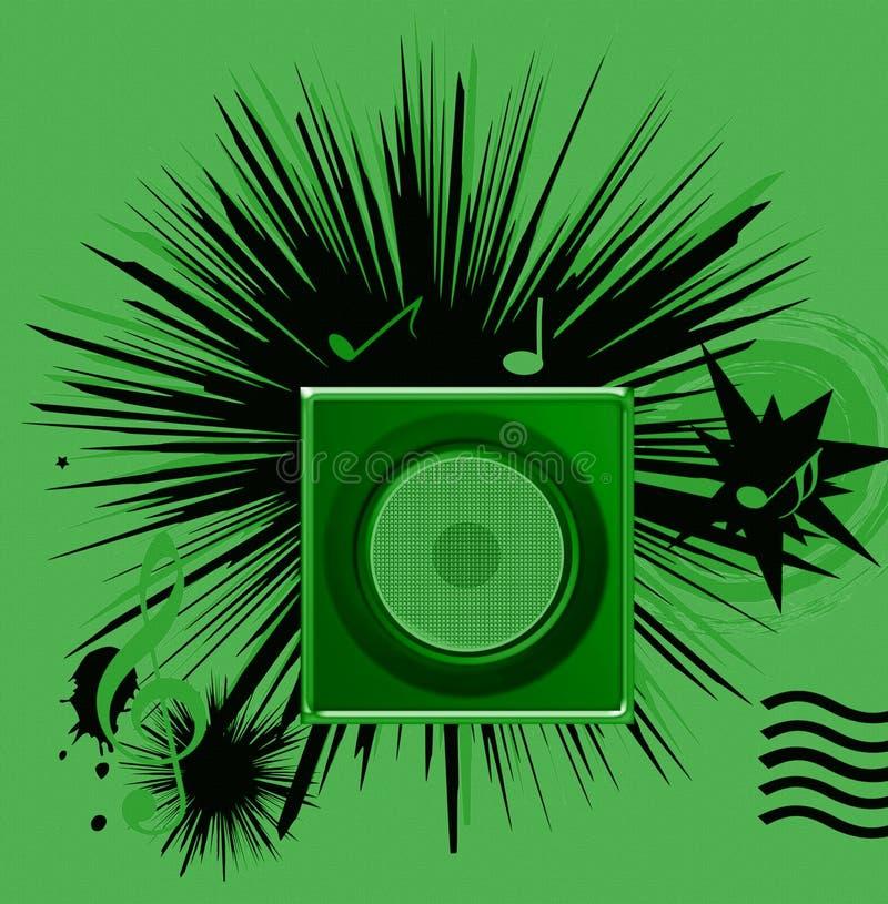 Download Motriz da música ilustração stock. Ilustração de gráfico - 10056322