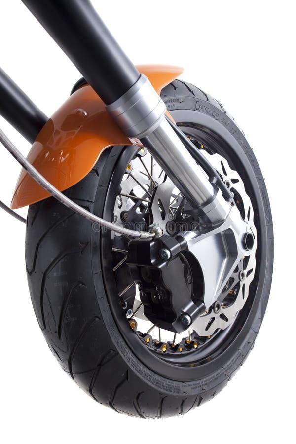 Motrocycle Bremsen-Abschluss oben lizenzfreie stockbilder