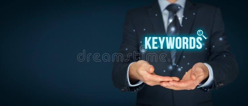 mots-clés images stock