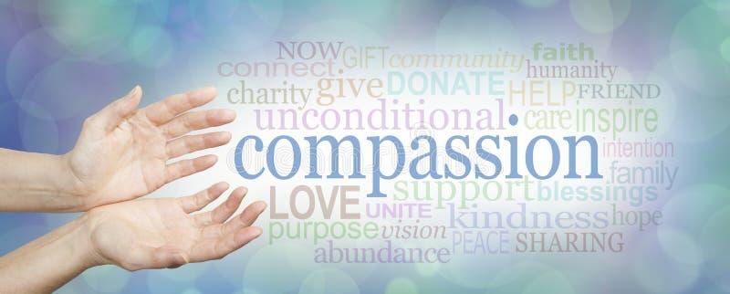 Mots de compassion photos libres de droits