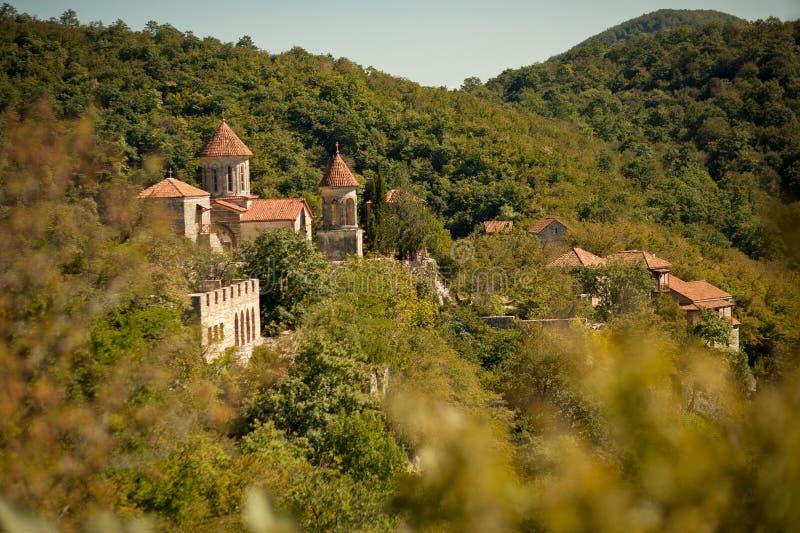 Motsameta修道院,乔治亚 库存照片