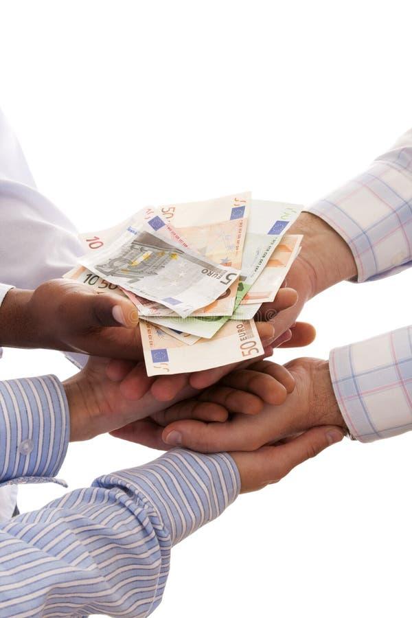 motta för pengar arkivfoton