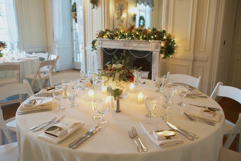 mottagandebröllop royaltyfri fotografi