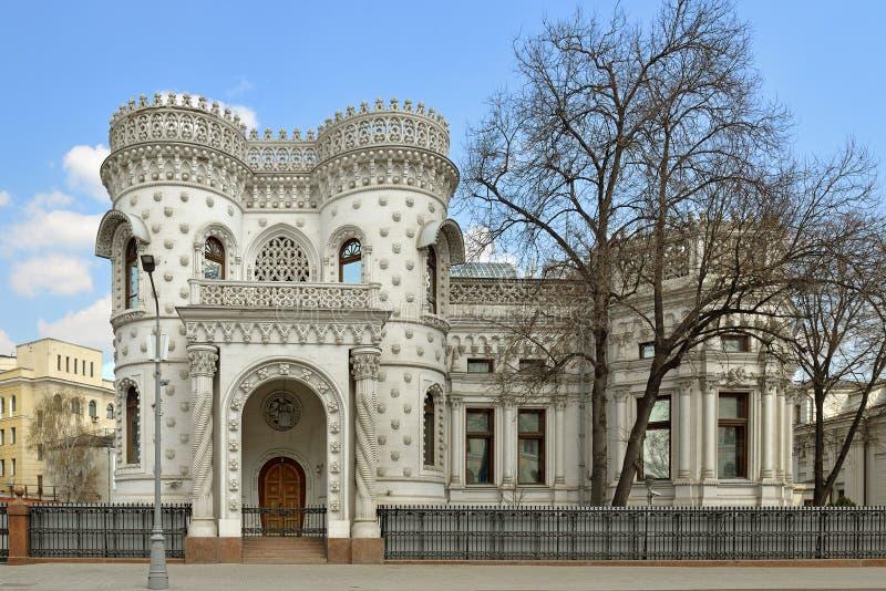 Mottagandehus av Utrikesdepartementet av rysk federation Byggnad planlades mellan 1894-1898 royaltyfri foto