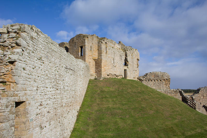 Motte and bailey castle - Duffus royalty free stock photos
