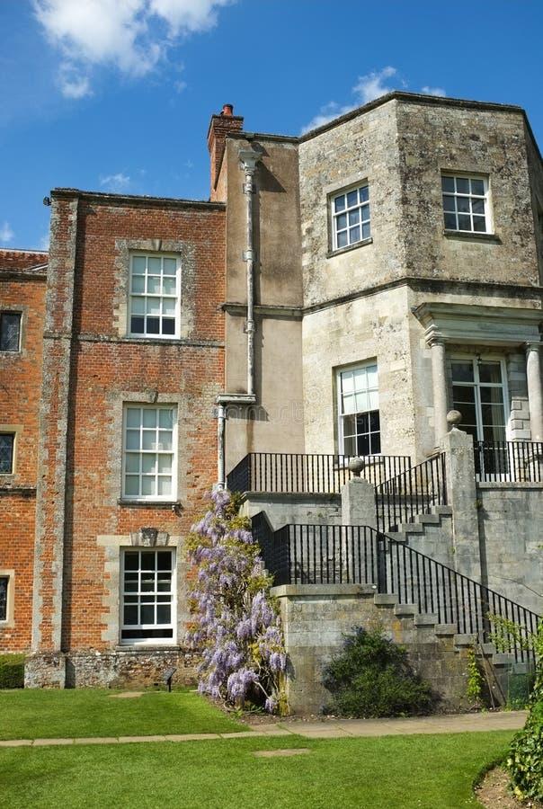 Mottisfont Abbey Mansion House fotografia de stock royalty free
