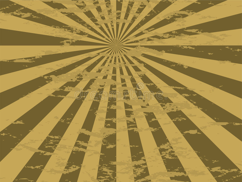 mottled золото излучает иллюстрация вектора
