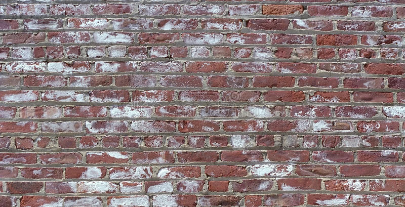 Mottled Red Brick Texture stock photos