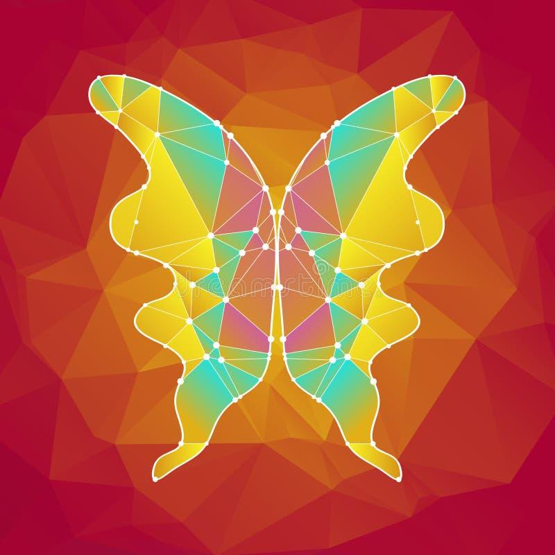 1 Motyl ilustracja wektor