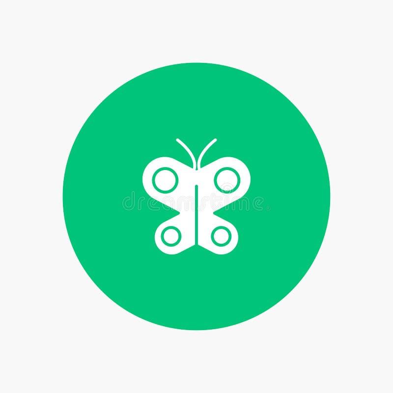 Motyl, komarnica, insekt, wiosna ilustracja wektor