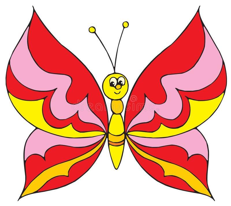 Motyl (wektorowa sztuka) royalty ilustracja