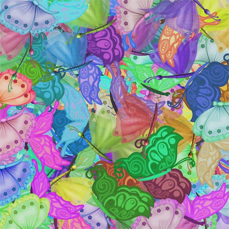 motyla lato ilustracji