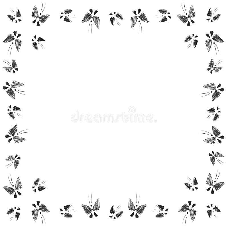 Motyla lot obrazy royalty free